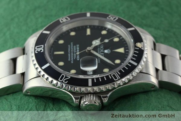 Used luxury watch Rolex Submariner steel automatic Kal. 3135 Ref. 16610  | 142214 05