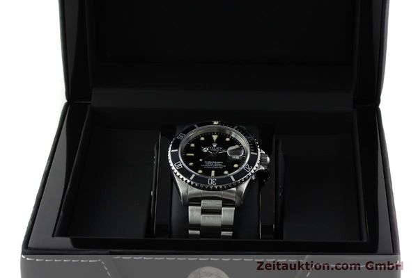 Used luxury watch Rolex Submariner steel automatic Kal. 3135 Ref. 16610  | 142214 07