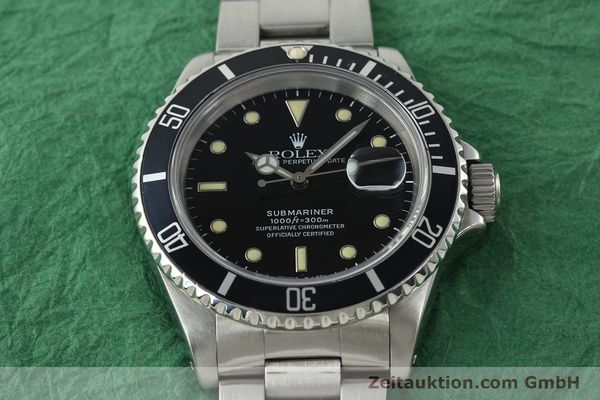 Used luxury watch Rolex Submariner steel automatic Kal. 3135 Ref. 16610  | 142214 16