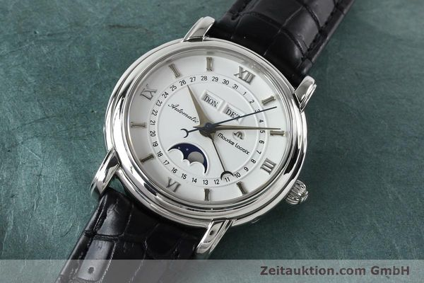 Used luxury watch Maurice Lacroix Masterpiece steel automatic Kal. ETA 2824-2 Ref. 37767  | 142216 01