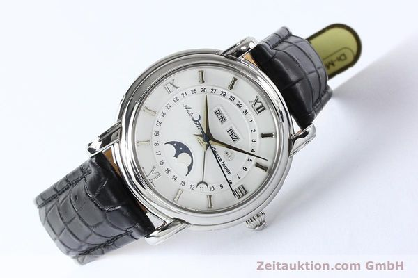 Used luxury watch Maurice Lacroix Masterpiece steel automatic Kal. ETA 2824-2 Ref. 37767  | 142216 03