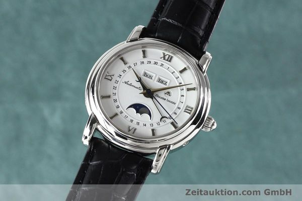 Used luxury watch Maurice Lacroix Masterpiece steel automatic Kal. ETA 2824-2 Ref. 37767  | 142216 04
