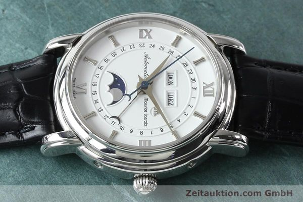 Used luxury watch Maurice Lacroix Masterpiece steel automatic Kal. ETA 2824-2 Ref. 37767  | 142216 05