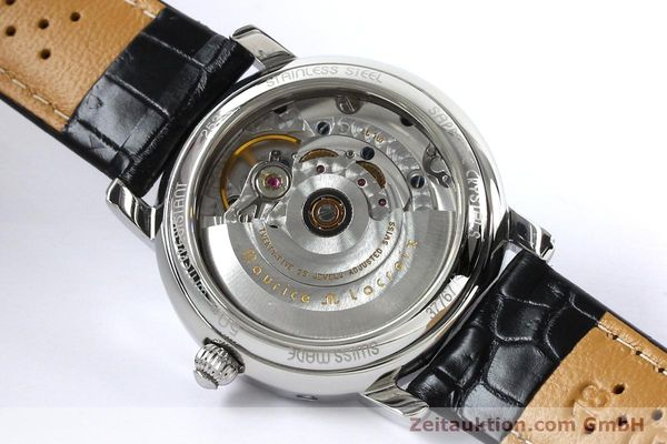 Used luxury watch Maurice Lacroix Masterpiece steel automatic Kal. ETA 2824-2 Ref. 37767  | 142216 12