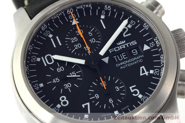 Used luxury watch Fortis B42 chronograph steel automatic Kal. ETA 7750 Ref. 635.10.141.3  | 142220 02