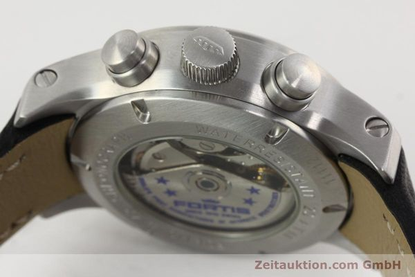 Used luxury watch Fortis B42 chronograph steel automatic Kal. ETA 7750 Ref. 635.10.141.3  | 142220 10