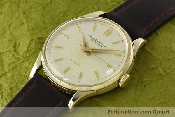 Used luxury watch IWC Portofino 14 ct yellow gold automatic Kal. 852  | 142224 01