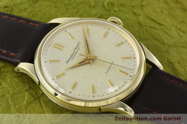 Used luxury watch IWC Portofino 14 ct yellow gold automatic Kal. 852  | 142224 13