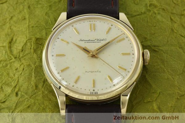Used luxury watch IWC Portofino 14 ct yellow gold automatic Kal. 852  | 142224 14