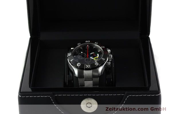 Used luxury watch Zenith Elprimero chronograph steel automatic Kal. 4000SC Ref. 03.0526.4000  | 142225 07
