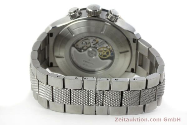 Used luxury watch Zenith Elprimero chronograph steel automatic Kal. 4000SC Ref. 03.0526.4000  | 142225 11