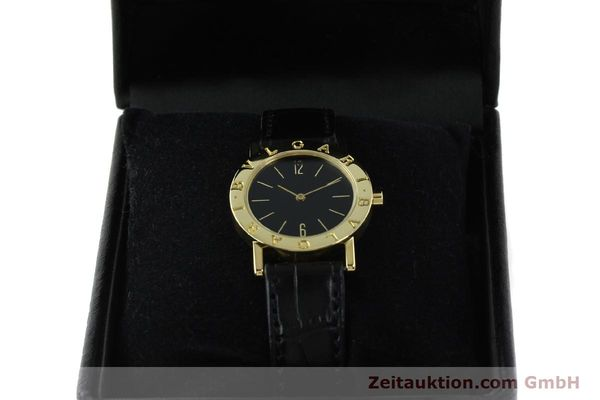Used luxury watch Bvlgari Bvlgari 18 ct gold quartz Kal. 956.031 Ref. BB30GL  | 142226 07