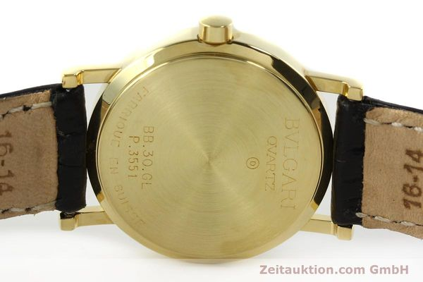 Used luxury watch Bvlgari Bvlgari 18 ct gold quartz Kal. 956.031 Ref. BB30GL  | 142226 09