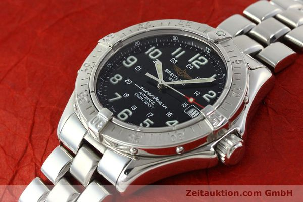 Used luxury watch Breitling Superocean steel automatic Kal. B17 ETA 2824-2 Ref. A17340  | 142227 01