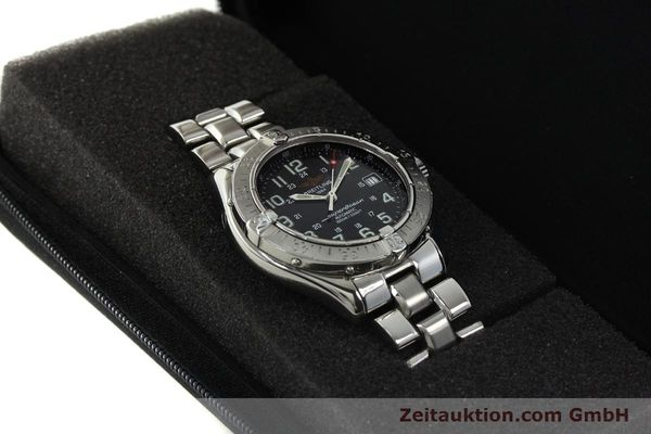 Used luxury watch Breitling Superocean steel automatic Kal. B17 ETA 2824-2 Ref. A17340  | 142227 07