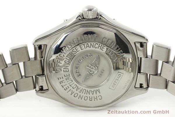 Used luxury watch Breitling Superocean steel automatic Kal. B17 ETA 2824-2 Ref. A17340  | 142227 09