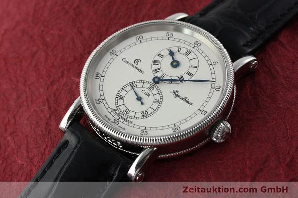 Used luxury watch Chronoswiss Regulateur steel automatic Kal. 122 Ref. CH1223  | 142228 01