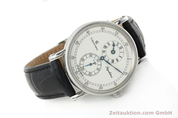 Used luxury watch Chronoswiss Regulateur steel automatic Kal. 122 Ref. CH1223  | 142228 03