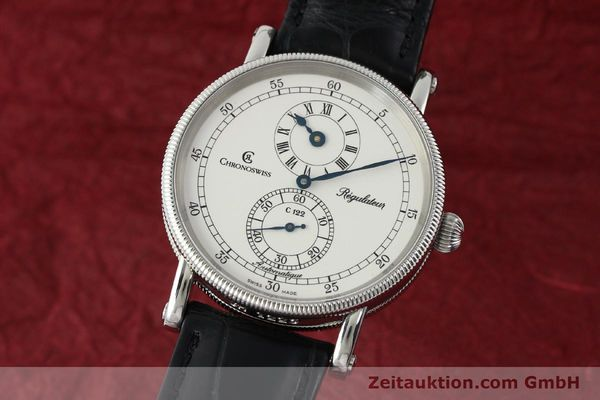 Used luxury watch Chronoswiss Regulateur steel automatic Kal. 122 Ref. CH1223  | 142228 04