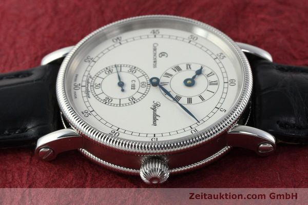 Used luxury watch Chronoswiss Regulateur steel automatic Kal. 122 Ref. CH1223  | 142228 05