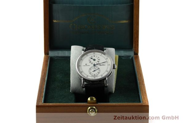 Used luxury watch Chronoswiss Regulateur steel automatic Kal. 122 Ref. CH1223  | 142228 07