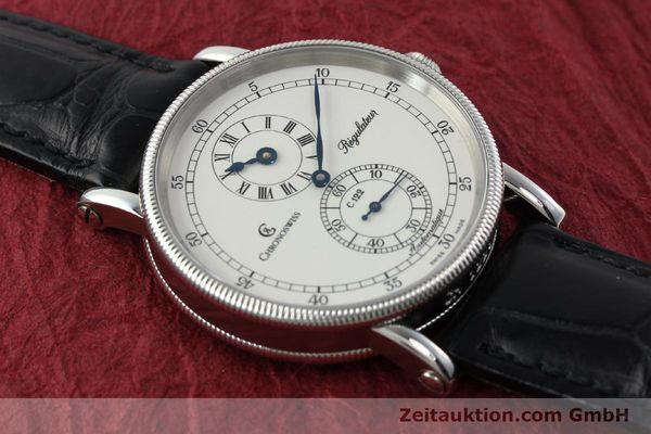 Used luxury watch Chronoswiss Regulateur steel automatic Kal. 122 Ref. CH1223  | 142228 15