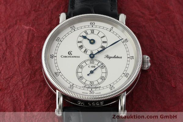 Used luxury watch Chronoswiss Regulateur steel automatic Kal. 122 Ref. CH1223  | 142228 16