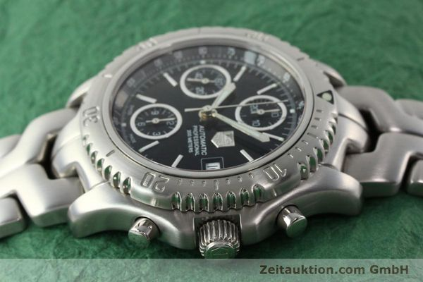 Used luxury watch Tag Heuer Link chronograph steel automatic Kal. ETA 7750 Ref. CT2111  | 142231 05