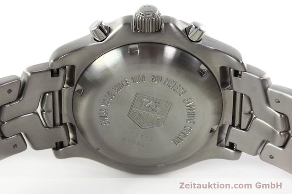Used luxury watch Tag Heuer Link chronograph steel automatic Kal. ETA 7750 Ref. CT2111  | 142231 09