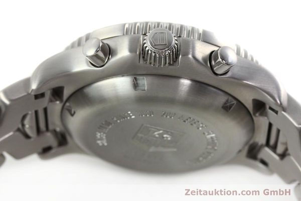 Used luxury watch Tag Heuer Link chronograph steel automatic Kal. ETA 7750 Ref. CT2111  | 142231 11