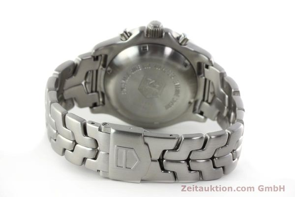 Used luxury watch Tag Heuer Link chronograph steel automatic Kal. ETA 7750 Ref. CT2111  | 142231 12
