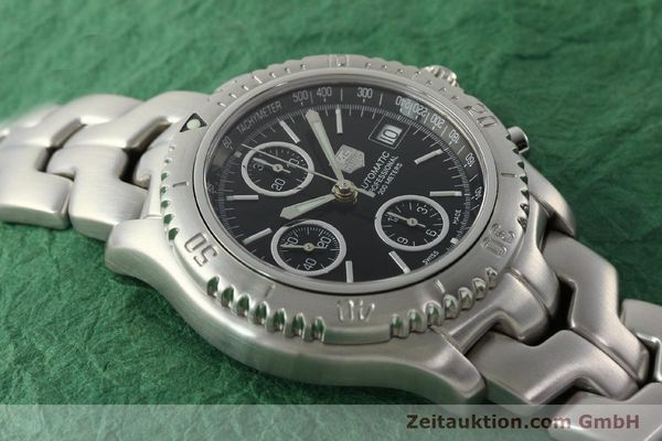 Used luxury watch Tag Heuer Link chronograph steel automatic Kal. ETA 7750 Ref. CT2111  | 142231 16