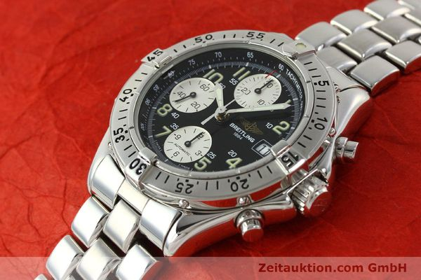 Used luxury watch Breitling Colt chronograph steel automatic Kal. B13 ETA 7750 Ref. A13035.1  | 142235 01