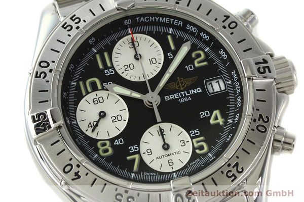 Used luxury watch Breitling Colt chronograph steel automatic Kal. B13 ETA 7750 Ref. A13035.1  | 142235 02