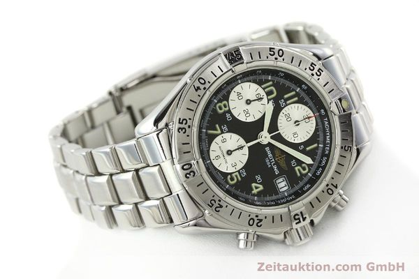 Used luxury watch Breitling Colt chronograph steel automatic Kal. B13 ETA 7750 Ref. A13035.1  | 142235 03