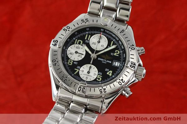 Used luxury watch Breitling Colt chronograph steel automatic Kal. B13 ETA 7750 Ref. A13035.1  | 142235 04