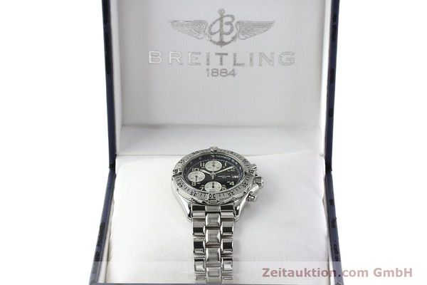 Used luxury watch Breitling Colt chronograph steel automatic Kal. B13 ETA 7750 Ref. A13035.1  | 142235 07