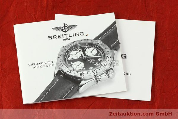 Used luxury watch Breitling Colt chronograph steel automatic Kal. B13 ETA 7750 Ref. A13035.1  | 142235 13