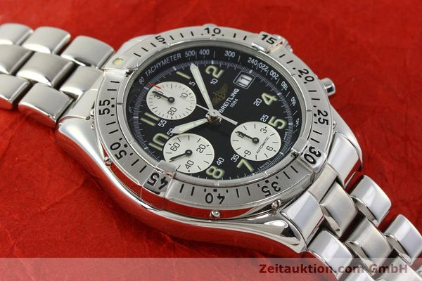 Used luxury watch Breitling Colt chronograph steel automatic Kal. B13 ETA 7750 Ref. A13035.1  | 142235 16