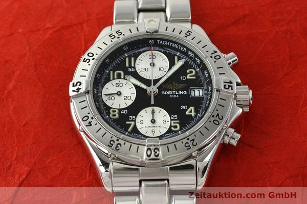 Used luxury watch Breitling Colt chronograph steel automatic Kal. B13 ETA 7750 Ref. A13035.1  | 142235 17