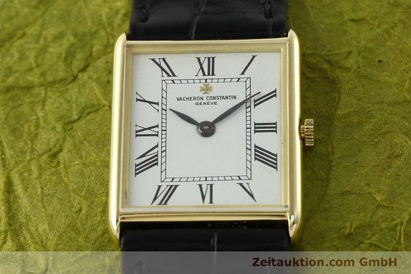 Used luxury watch Vacheron & Constantin * 18 ct gold manual winding Kal. 1003/1 Ref. 33201  | 142237 14