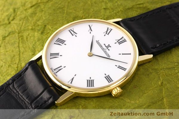 Used luxury watch Jaeger Le Coultre * 18 ct gold quartz Kal. 609 Ref. 111.1.09  | 142239 01