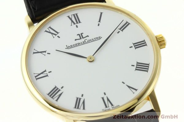 Used luxury watch Jaeger Le Coultre * 18 ct gold quartz Kal. 609 Ref. 111.1.09  | 142239 02