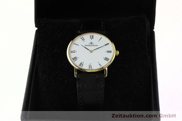 Used luxury watch Jaeger Le Coultre * 18 ct gold quartz Kal. 609 Ref. 111.1.09  | 142239 07