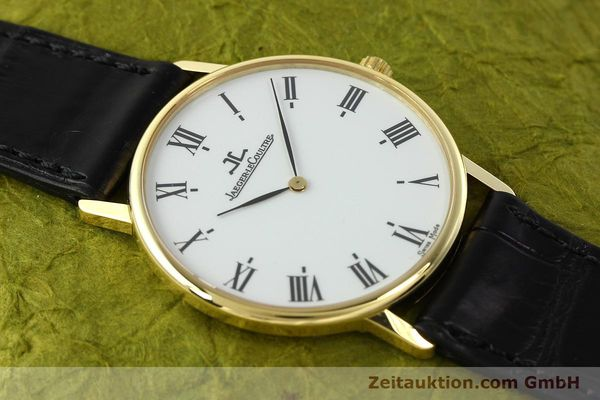 Used luxury watch Jaeger Le Coultre * 18 ct gold quartz Kal. 609 Ref. 111.1.09  | 142239 15