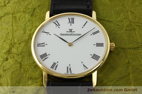 Used luxury watch Jaeger Le Coultre * 18 ct gold quartz Kal. 609 Ref. 111.1.09  | 142239 16