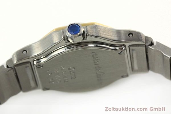 Used luxury watch Cartier Santos steel / gold quartz Kal. 87  | 142240 08