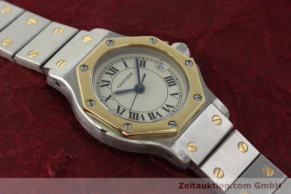 Used luxury watch Cartier Santos steel / gold quartz Kal. 87  | 142240 12