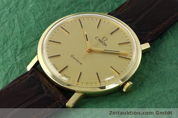 Used luxury watch Omega * 14 ct yellow gold manual winding Kal. 1030 Ref. 1211  | 142241 01