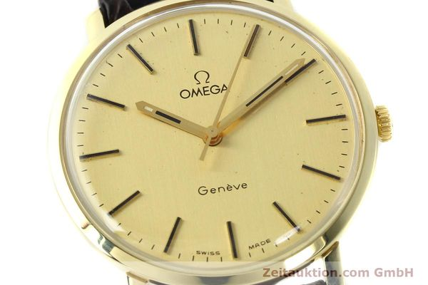 Used luxury watch Omega * 14 ct yellow gold manual winding Kal. 1030 Ref. 1211  | 142241 02